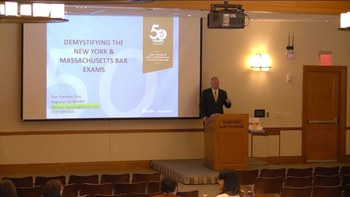 Barbri NY & MA Bar Exam Presentation – Spring '18   Harvard