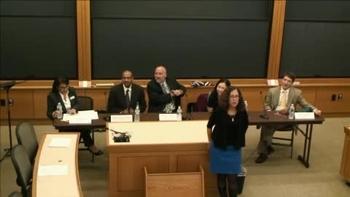 Nonprofit/Advocacy Panel (2014) | Harvard Law School