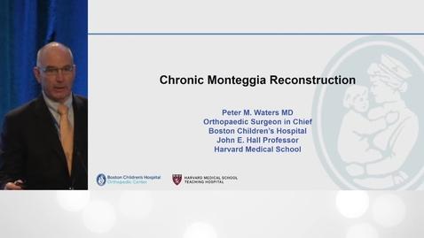 Thumbnail for entry Chronic Monteggia Reconstruction
