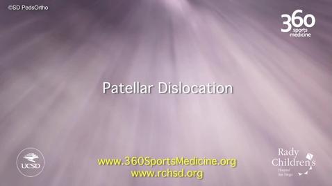 Thumbnail for entry Patellar Dislocation