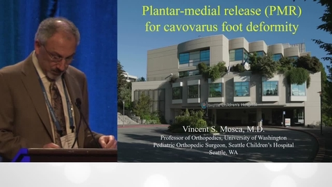 Thumbnail for entry Plantar Medial Release for Cavovarus Foot Deformity