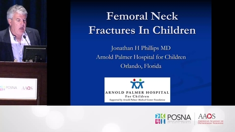 Thumbnail for entry Femoral Neck Fractures in Children