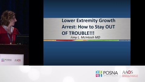 Thumbnail for entry Lower Extremity Growth Arrest