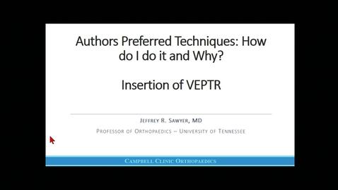 Thumbnail for entry Insertion of VEPTR