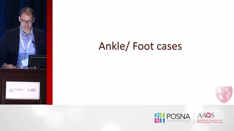 Thumbnail for entry Pediatric Lower Extremity Trauma Cases
