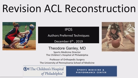 Thumbnail for entry Revision ACL Reconstruction