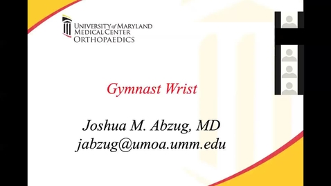 Thumbnail for entry Gymnast Wrist