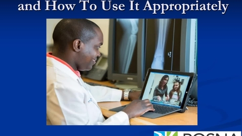 Thumbnail for entry Telemedicine 101: What, When, and How to Use It Appropriately