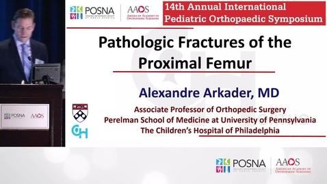 Thumbnail for entry Pathologic Fractures of the Proximal Femur