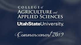 Thumbnail for entry USU College of Agriculture & Applied Sciences Commencement Ceremony 2019