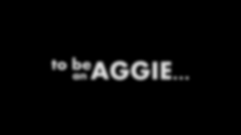 Thumbnail for entry To be An Aggie - By International Students