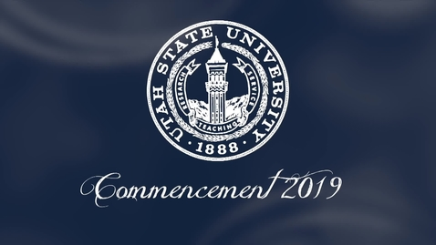 Thumbnail for entry Utah State University Commencement Ceremony 2019