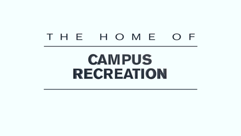 Thumbnail for entry Aggie Recreation Center