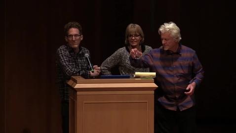 Thumbnail for entry Dan Collins & Laurie Lundquist - Conversation About Art