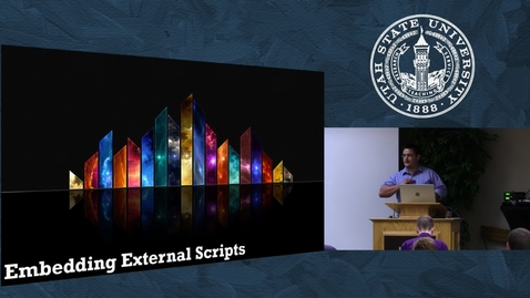 Thumbnail for entry Embedding Scripts
