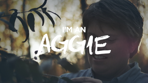 Thumbnail for entry Why I'm an Aggie - Lisa Boyd