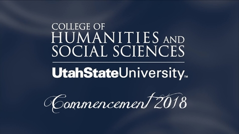 Thumbnail for entry USU College of Humanities & Social Sciences Graduation Ceremony 2018
