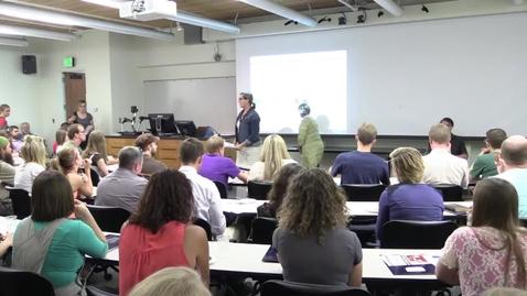 Thumbnail for entry Undergraduate Teaching Fellow Orientation