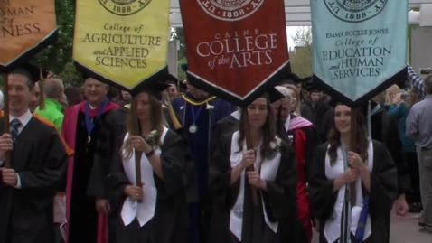 Thumbnail for entry 2016 Undergraduate Commencement - Captioned