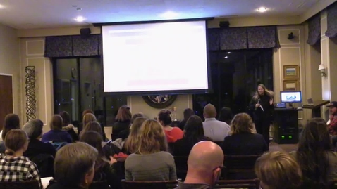 Thumbnail for entry Morgan Pederson - Huntsman Marketing Association Presenter