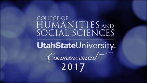 2017 CHaSS Commencement - Captioned