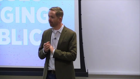 Thumbnail for entry Spring 2019 – Landscape Architecture Speaker Series – Jared Carlon