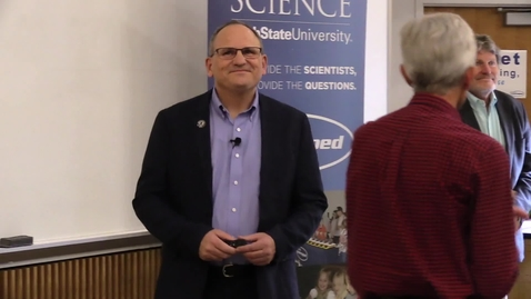 """Thumbnail for entry Science Unwrapped: """"Food on Mars"""" Bruce Bugbee and Lance Seefeldt"""