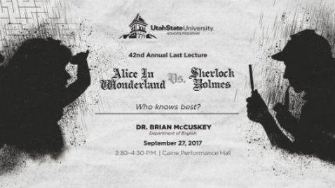 Thumbnail for entry Dr. Brian McCuskey - Last Lecture 2017