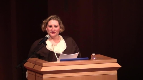 Thumbnail for entry Keynote: Jenni Sorkin
