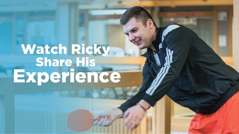 Thumbnail for entry Hear Ricky share his Snow + USU Experience