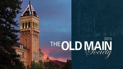 Thumbnail for entry Alumni Old Main Society Dinner 2015