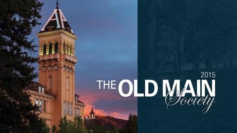 Thumbnail for entry Alumni Old Main Society Dinner 2015