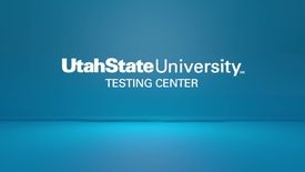 Thumbnail for entry USU Testing Center