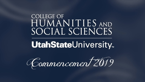 Thumbnail for entry USU College of Humanities & Social Sciences Commencement Ceremony 2019