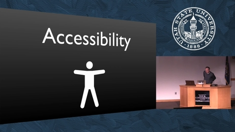 Thumbnail for entry Accessibility for All - Content
