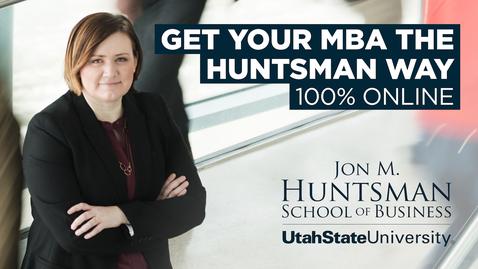 Thumbnail for entry Huntsman Online MBA