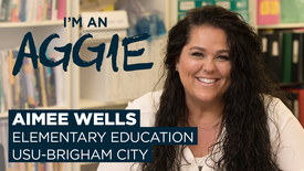 Thumbnail for entry Aimee Wells - USU Brigham City