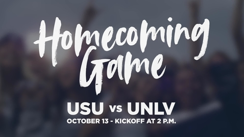 Thumbnail for entry USU Homecoming 2018