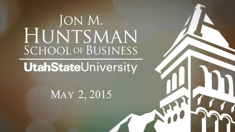 Thumbnail for entry 2015 Huntmsan School of Business Commencement