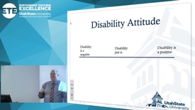 "Thumbnail for entry David Pruden ""Disability Just Is"""