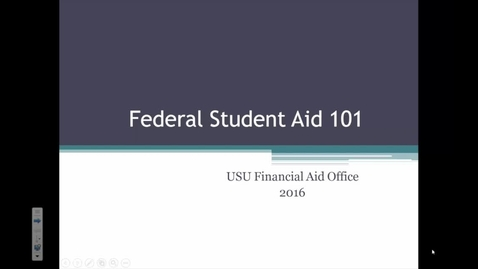 Thumbnail for entry Financial Aid - FAFSA
