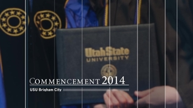 Thumbnail for entry Commencement 2014 -  USU Brigham City