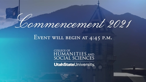 Thumbnail for entry CHaSS 2021 Convocation - SSWA, POLS, JOUR, HASS
