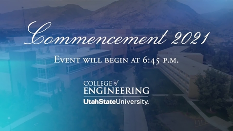 Thumbnail for entry College of Engineering 2021 Convocation