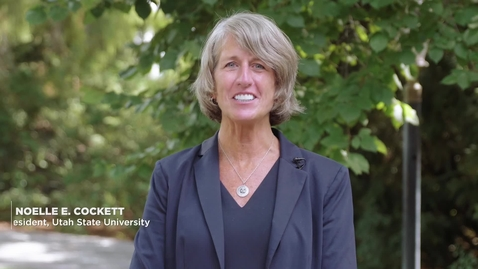 Thumbnail for entry New Employee Welcome from President Noelle E. Cockett