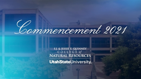 Thumbnail for entry College of Natural Resources Commencement - 2021