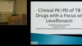 Thumbnail for entry PTR Apr2 Clinical PK/PD of Hevofloxacin in the Treatment of Tuberculosis