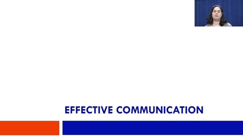 Thumbnail for entry Video 3: Effective Communication and MI