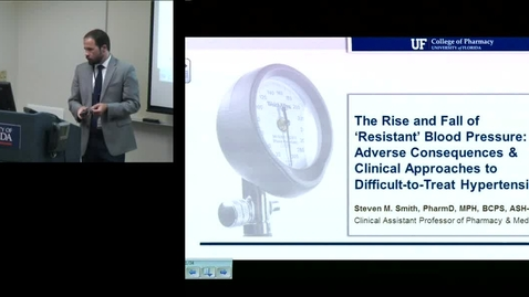 PTR July 13th 2016 - Steven Smith - The Rise and Fall of Resistant Blood Pressure