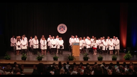 Thumbnail for entry 2017 White Coat Ceremony